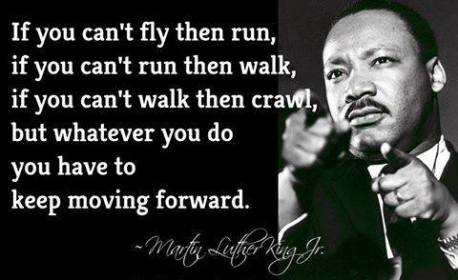 MLK - moving forward